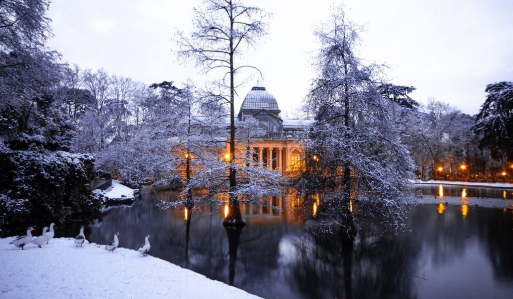 La gran nevada llega este finde a Madrid capital con hasta 40 cm de nieve