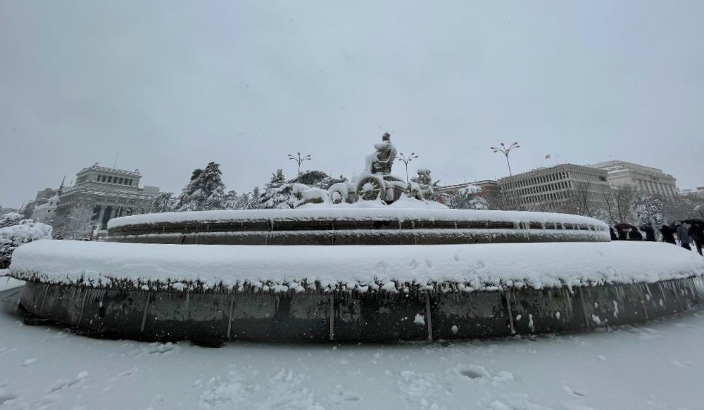 Llega una ola de frío que podría dejar mínimas históricas en Madrid