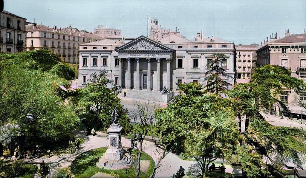 Así era Madrid durante los años 30… y así es ahora