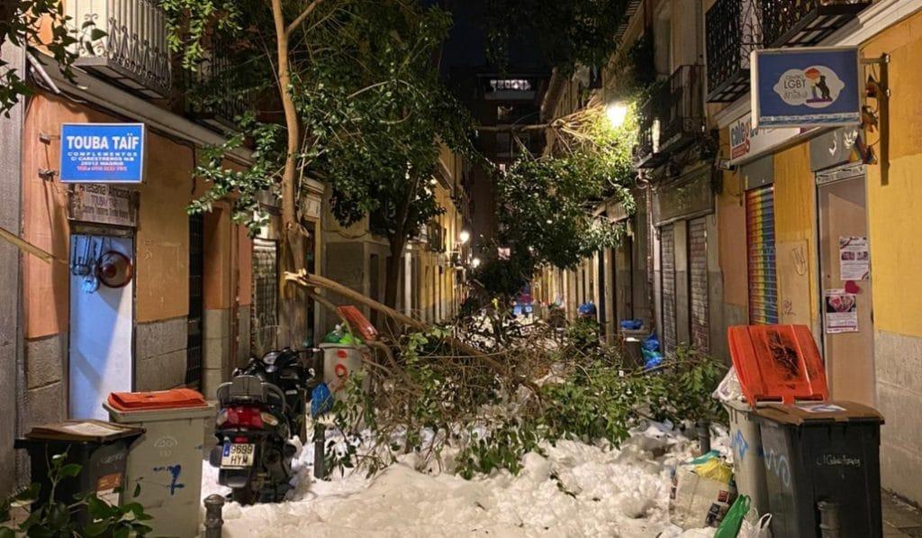 Madrid pide ser declarada zona catastrófica
