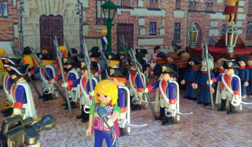Llega una exposición de Playmobil que cuenta la historia de Madrid