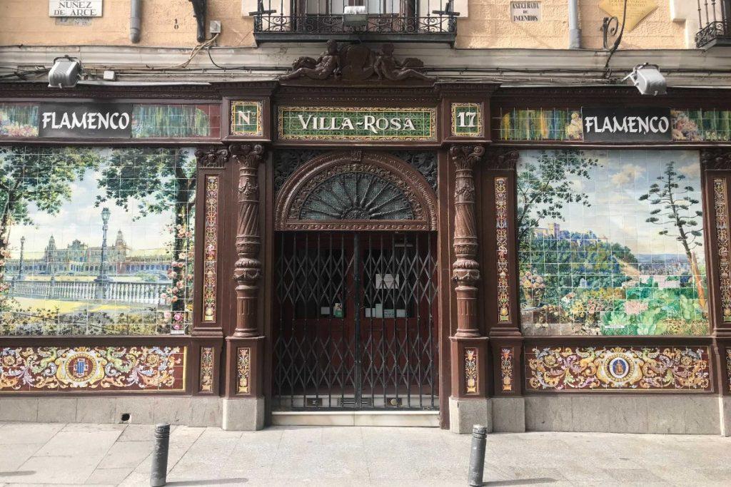 Villa Rosa: cierra el primer tablao flamenco de Madrid