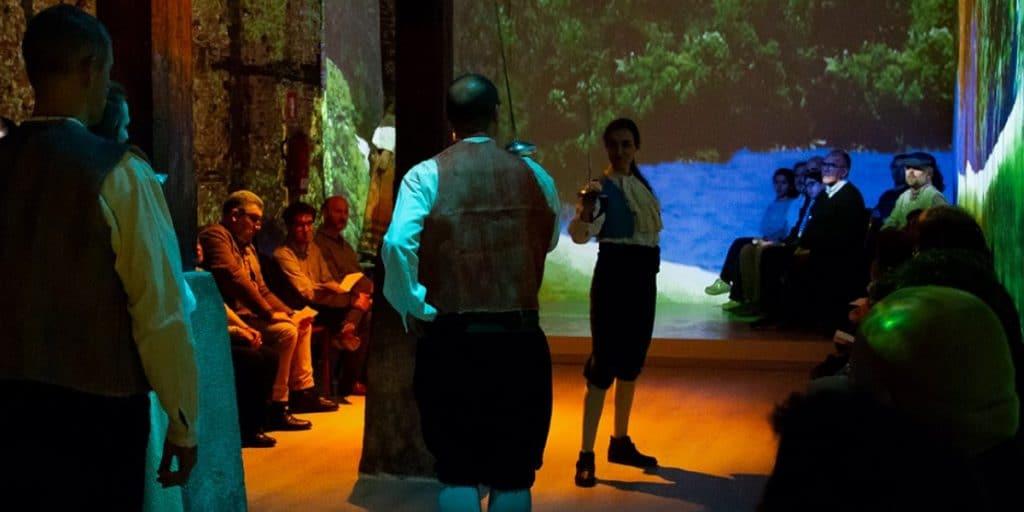 Llega a Madrid un espectáculo de música y danza en directo con video mapping