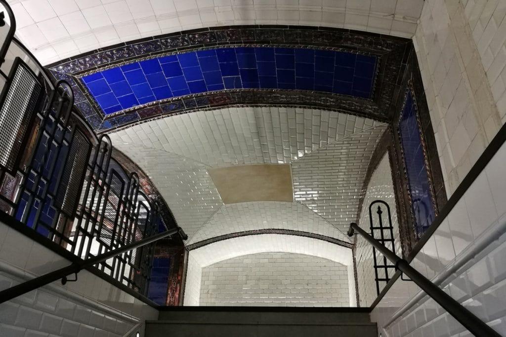 El metro de Pacífico alberga un museo en su interior