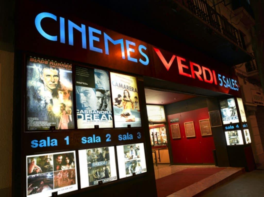 Los cines Verdi crean dos canales de televisión para ver cine desde casa