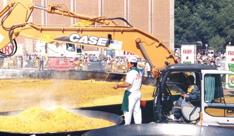 La paella más grande del mundo se hizo en Madrid hace 20 años