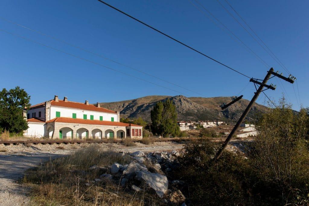 Una vieja estación de tren de la Sierra, convertida en espacio cultural