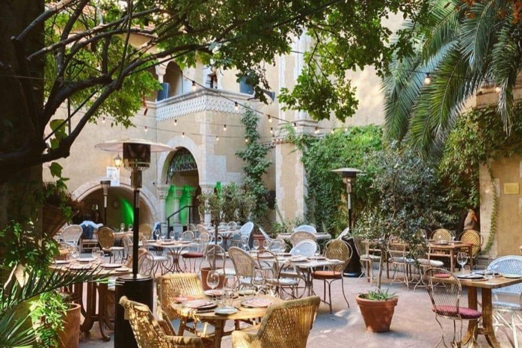 Los 10 mejores patios de Madrid