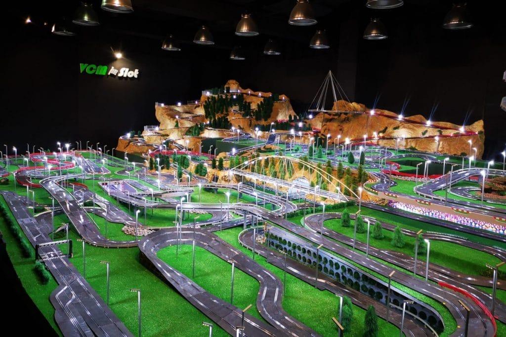 La pista de Scalextric más grande del mundo está en Madrid
