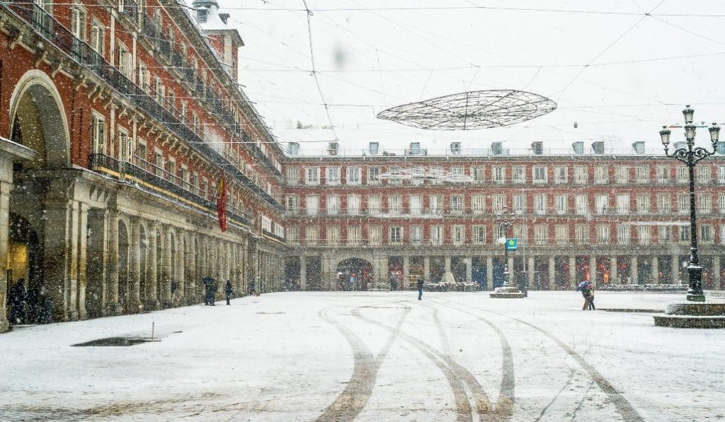 ¿Nevará en Madrid esta semana?