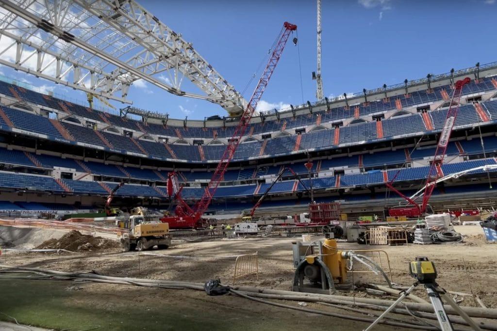 Así avanzan las obras del Bernabéu