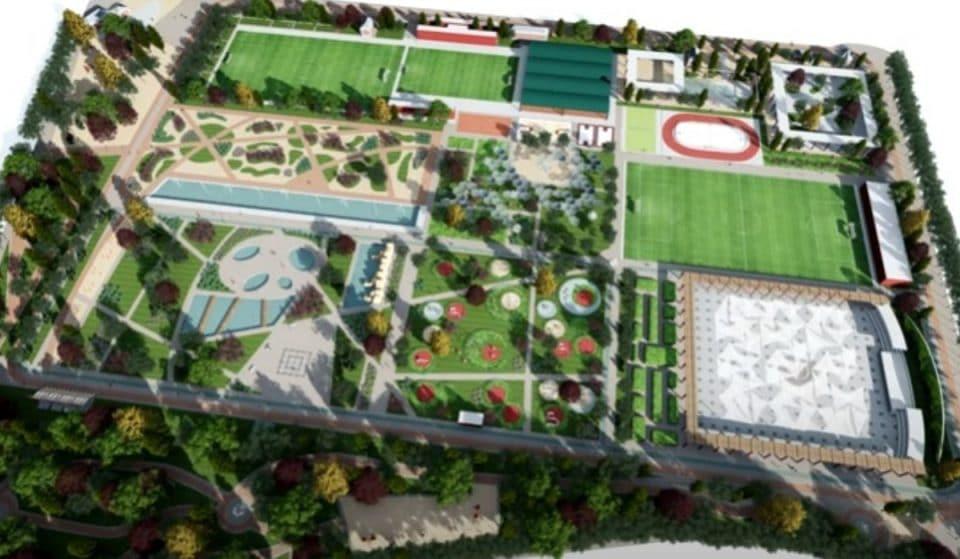 Madrid tendrá un parque con zonas verdes, rocódromo y gimnasio