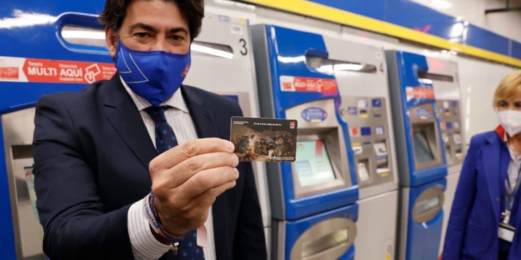 Madrid lanza una tarjeta de metro edición limitada con un cuadro de Goya