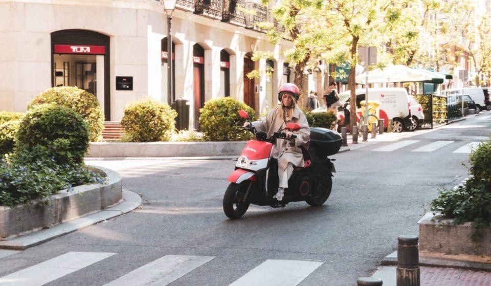 El Madrid más gastro a bordo de las motos de ACCIONA