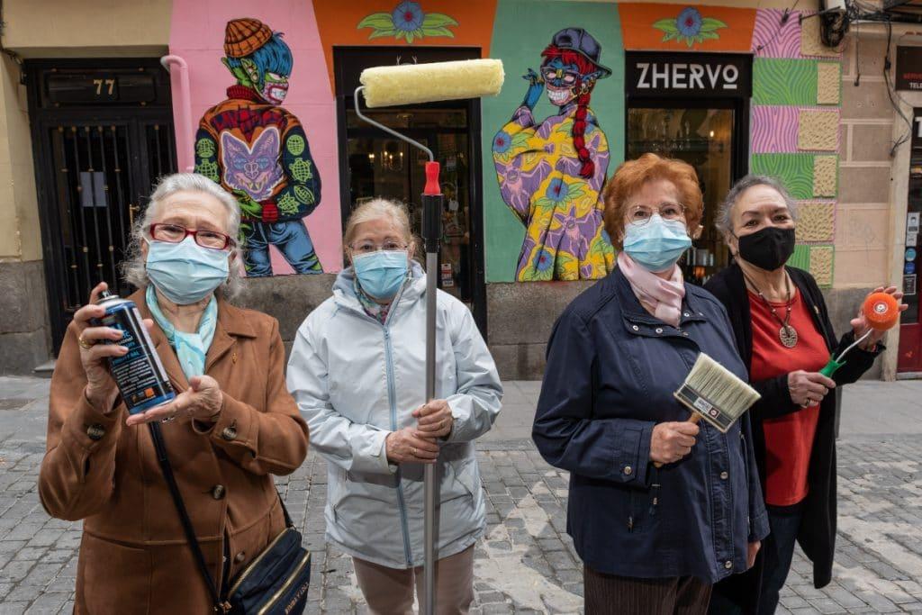 C.A.L.L.E vuelve a llenar de arte las calles de Lavapiés
