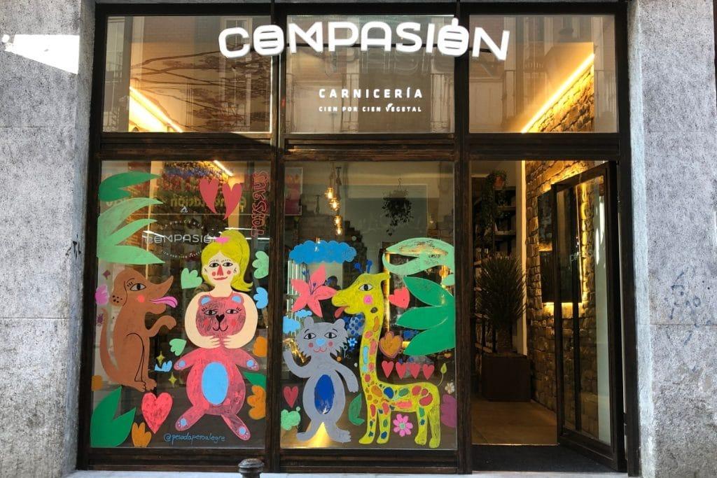 Compasión: la carnicería vegetal de Madrid