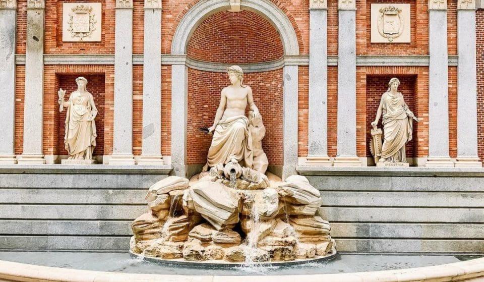 La impresionante fuente que no sabías que estaba en el centro de Madrid
