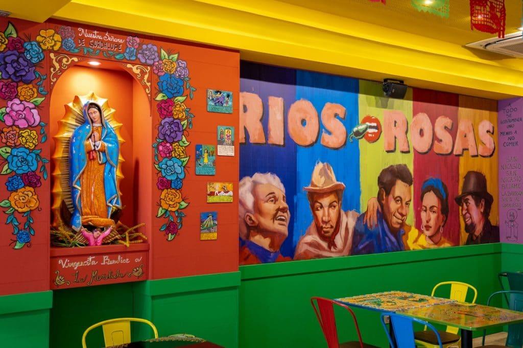 Mexicana de Franquicias abre La Mordida Ríos Rosas y Ricos Tacos Las Rozas