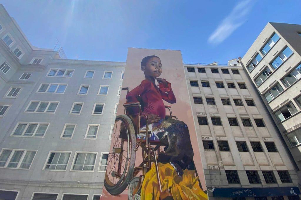 Este es el nuevo e impresionante mural que se puede ver en Sol