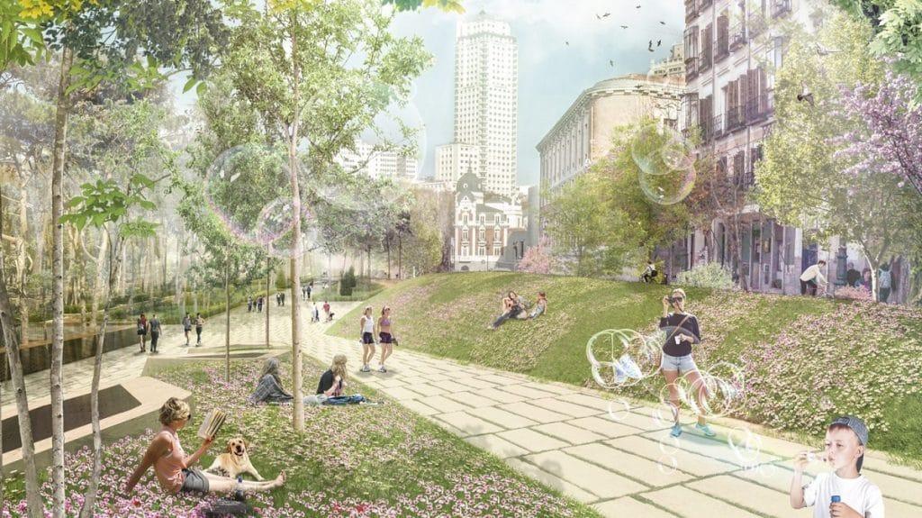 Ya hay fecha para la finalización de las obras de plaza España