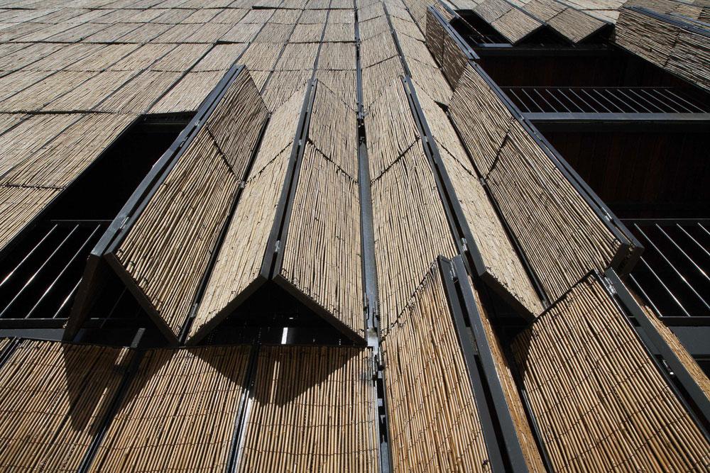 Casa de Bambú: un de edificio en Madrid que te sorprenderá