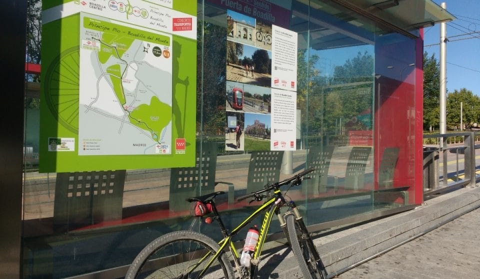 Metro Ligero Oeste ofrece rutas verdes para disfrutar del aire libre