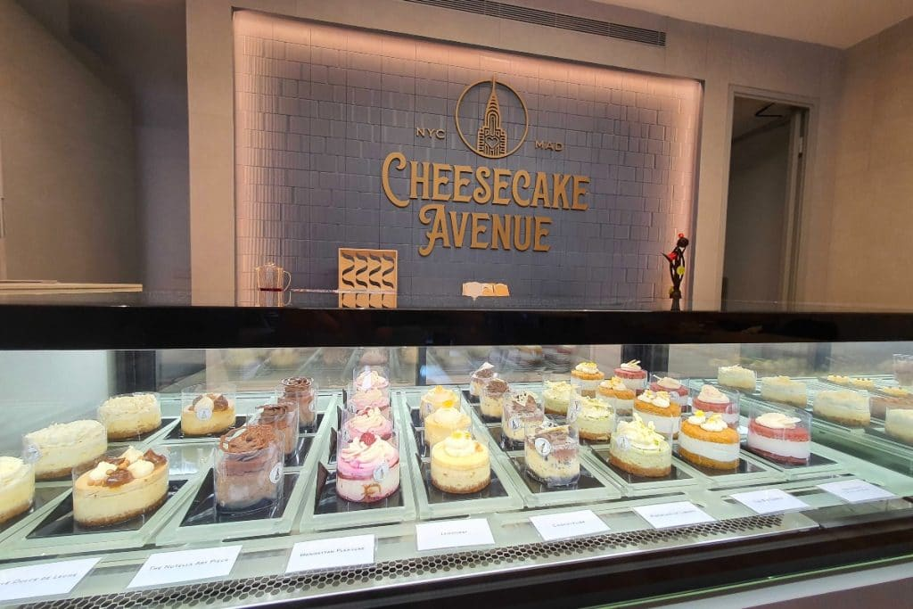 Cheesecake Avenue: el primer espacio dedicado en exclusiva a la tarta de queso
