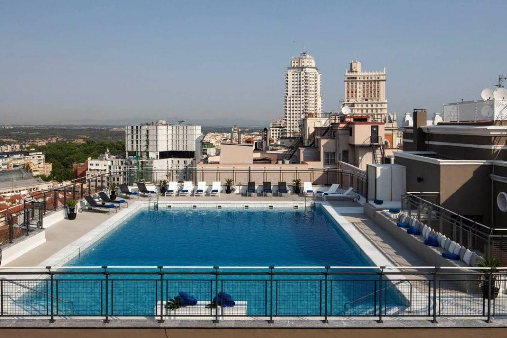 Las mejores terrazas con piscina de Madrid