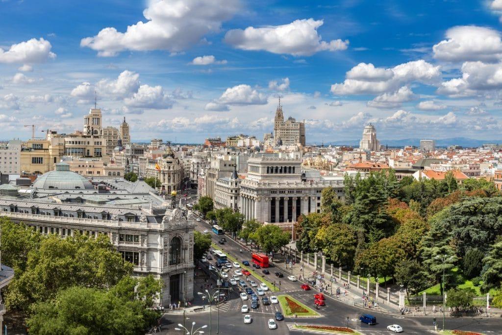 Las temperaturas bajan en Madrid para el fin de semana