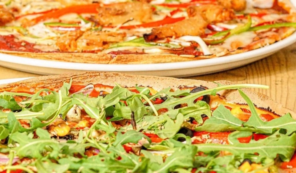 Pizza Natura: increíbles pizzas con base de quinoa y maíz