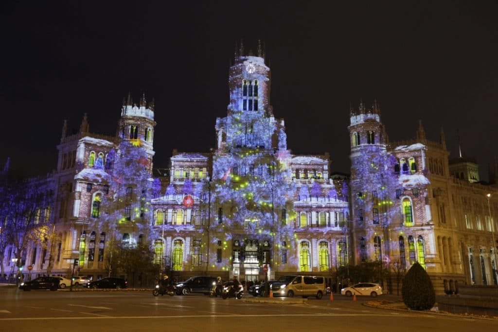 LuzMadrid, el mes que viene Madrid se iluminará con videomapping y caleidoscopios gigantes