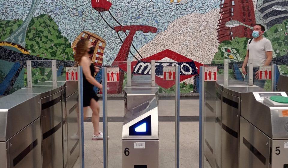 ¿Por qué los usuarios de Metro se lían con los tornos futuristas?