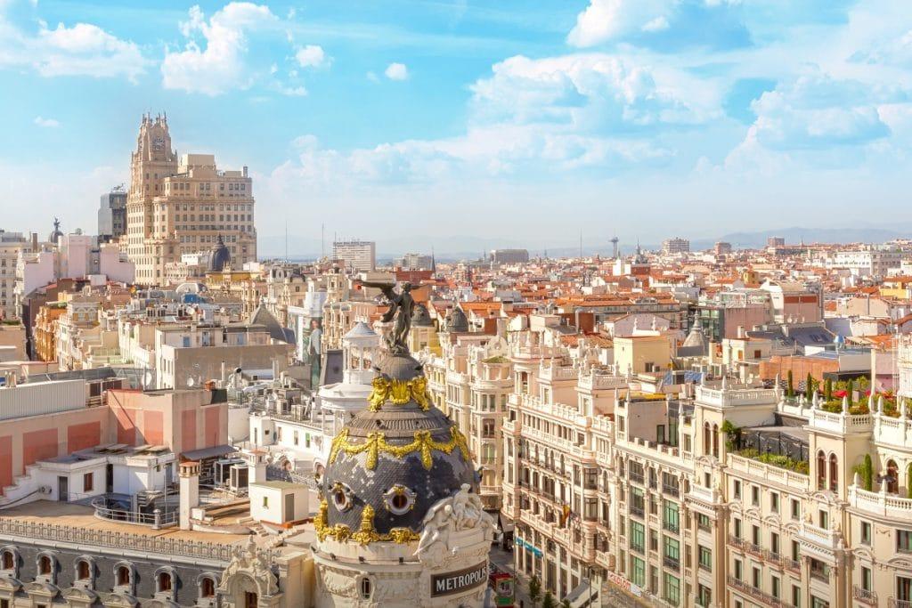 Vivir en Madrid es un 20% más caro que en el resto de ciudades españolas