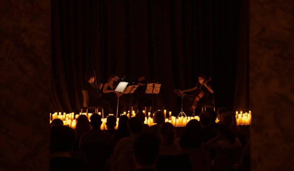 Madrid se inunda de velas para recordar la obra de Vivaldi