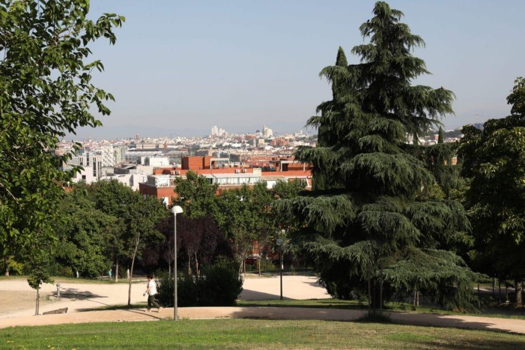 Madrid conecta los miradores de Vallecas con un itinerario peatonal