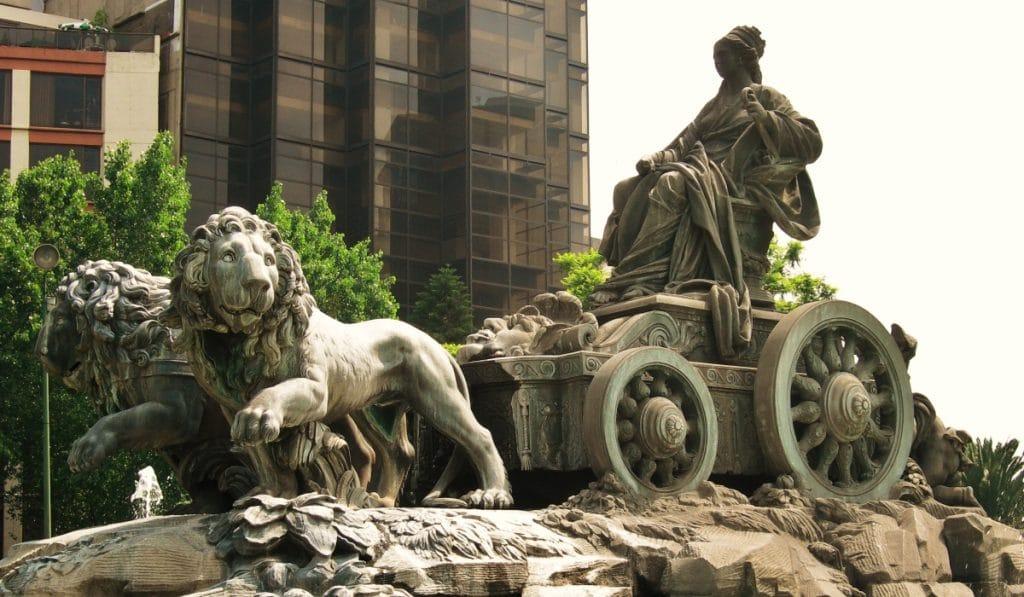 ¿Sabías que México tiene una réplica exacta de la Cibeles?