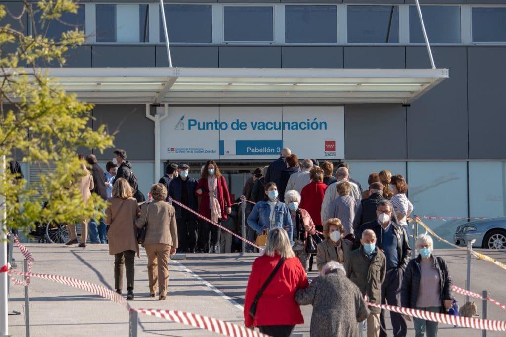 Madrid ya vacuna sin cita previa