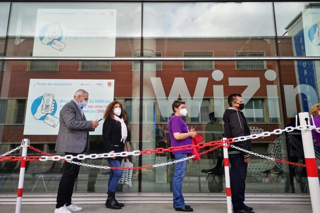 El WiZink Center vacuna desde hoy sin cita previa las 24h del día