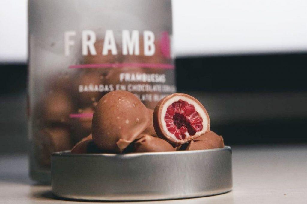 Frambons: bombones con corazón de frambuesa que llegan a Madrid