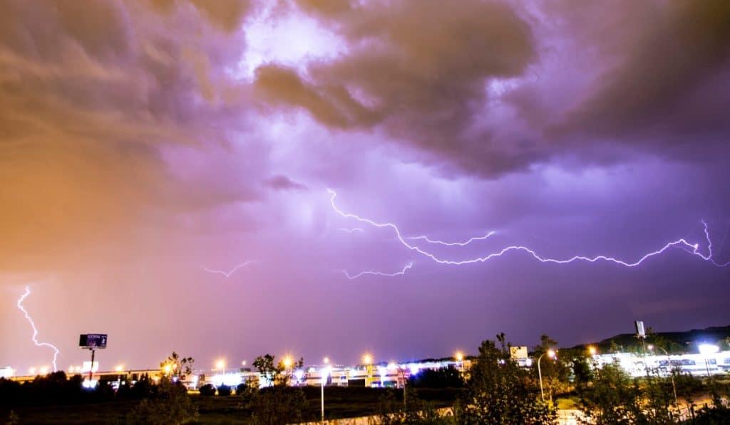 Madrid, en alerta por riesgo de granizo, tormentas e inundaciones