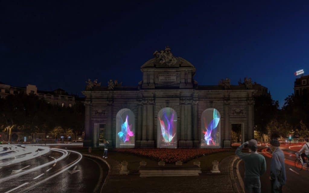 Ya conocemos horarios y mapa de LuzMadrid, el festival de videomapping y caleidoscopios gigantes