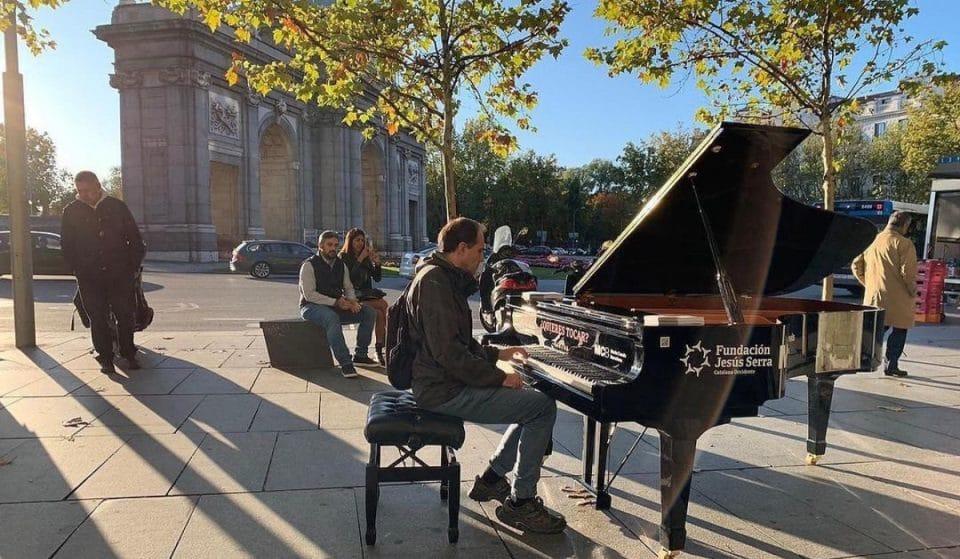 ¿En qué calles están los pianos que puedes tocar hoy mismo?