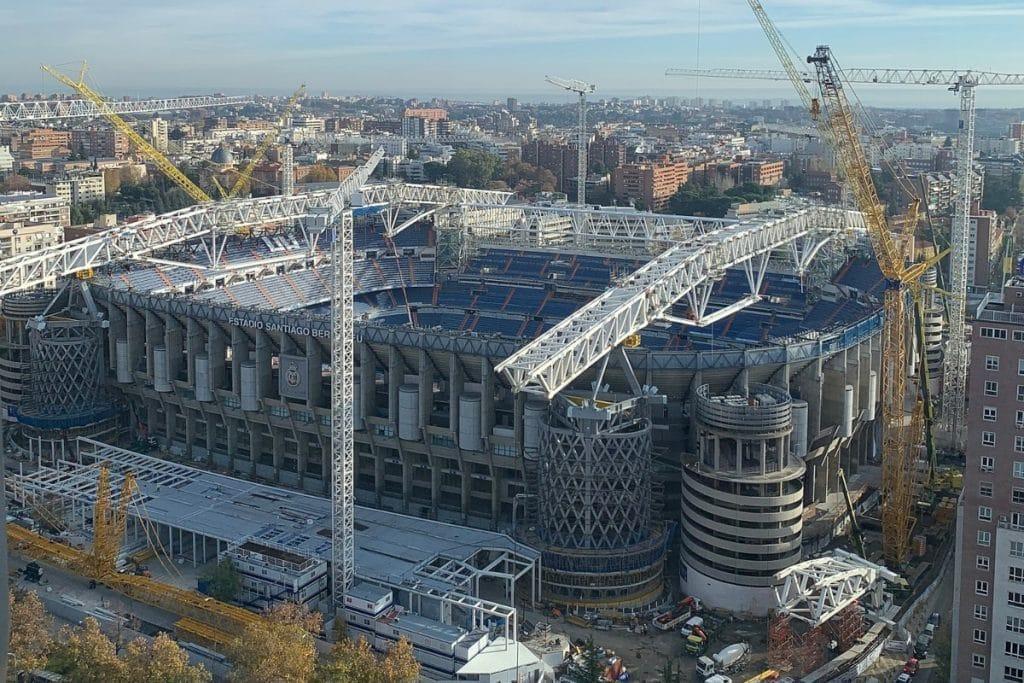 El Santiago Bernabéu ya está preparado para su reestreno