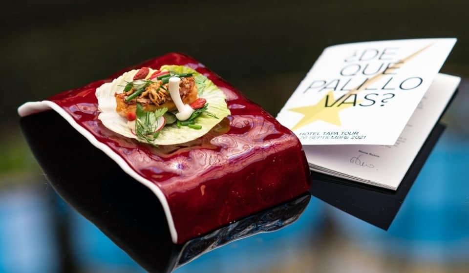 Arranca en Madrid Hotel Tapa Tour con platos de lujo