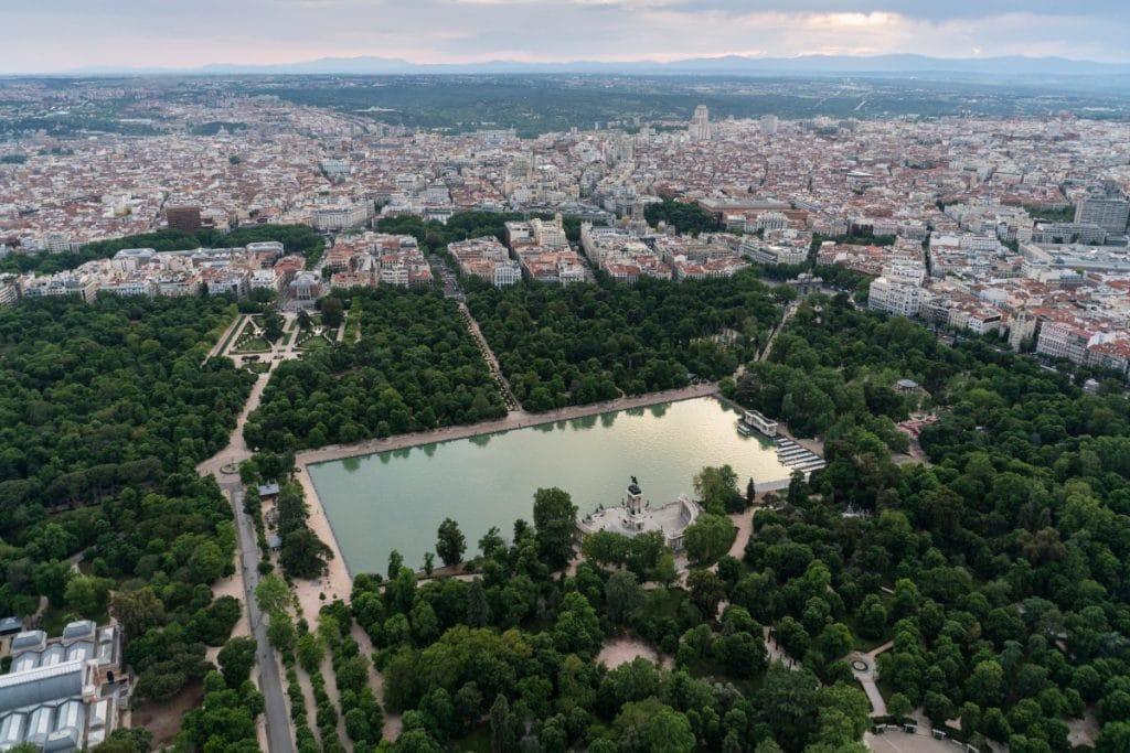 Madrid ofrece rutas guiadas gratuitas para conocer El Paisaje de la Luz