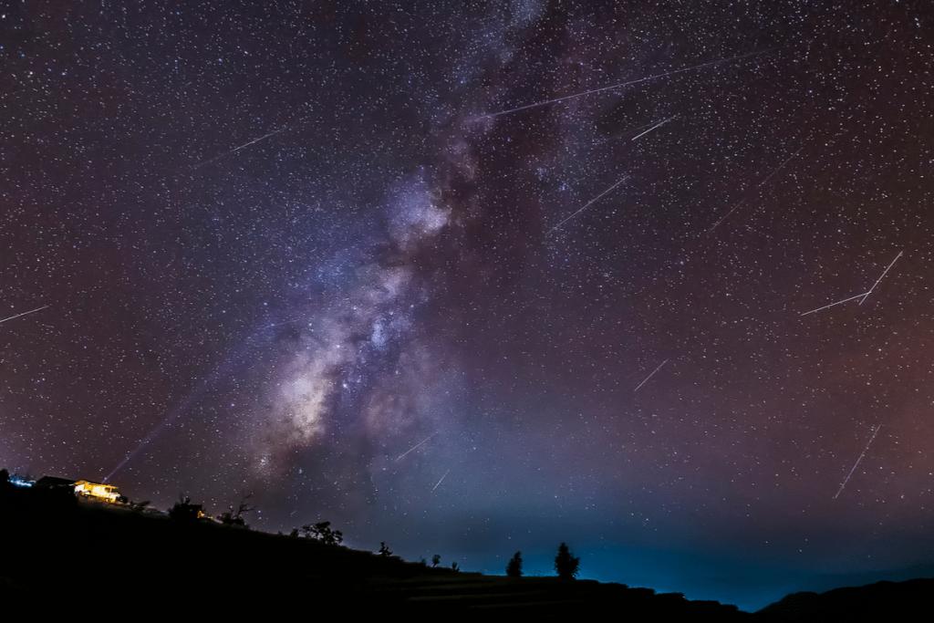Dracónidas, la lluvia de estrellas de octubre: dónde y cuándo verla