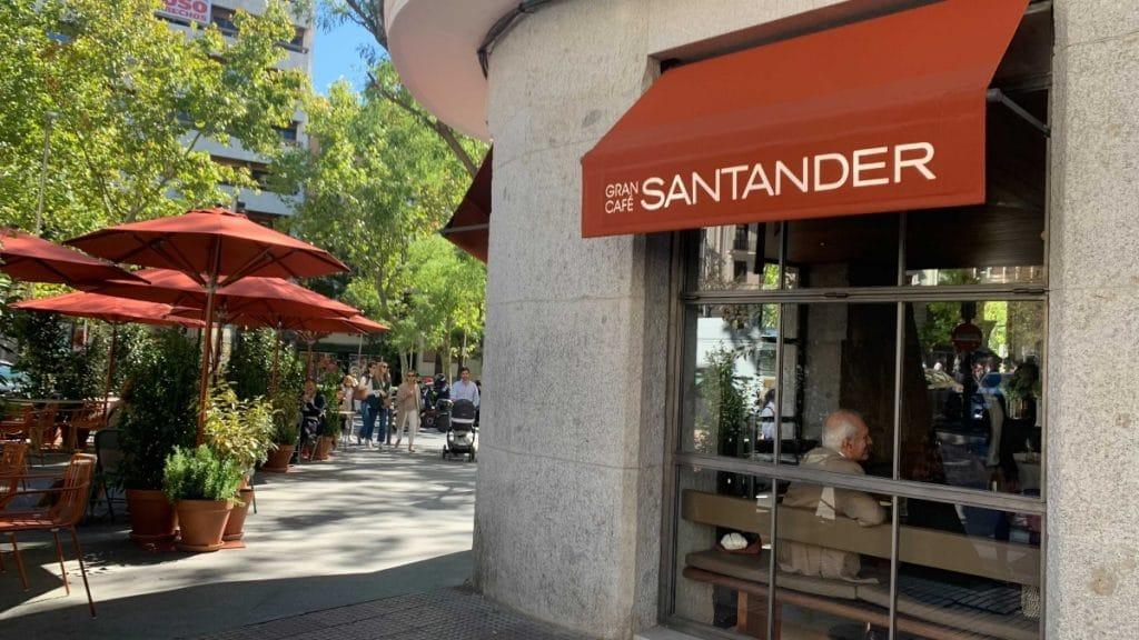 Reabre la mítica Gran Cafetería Santander
