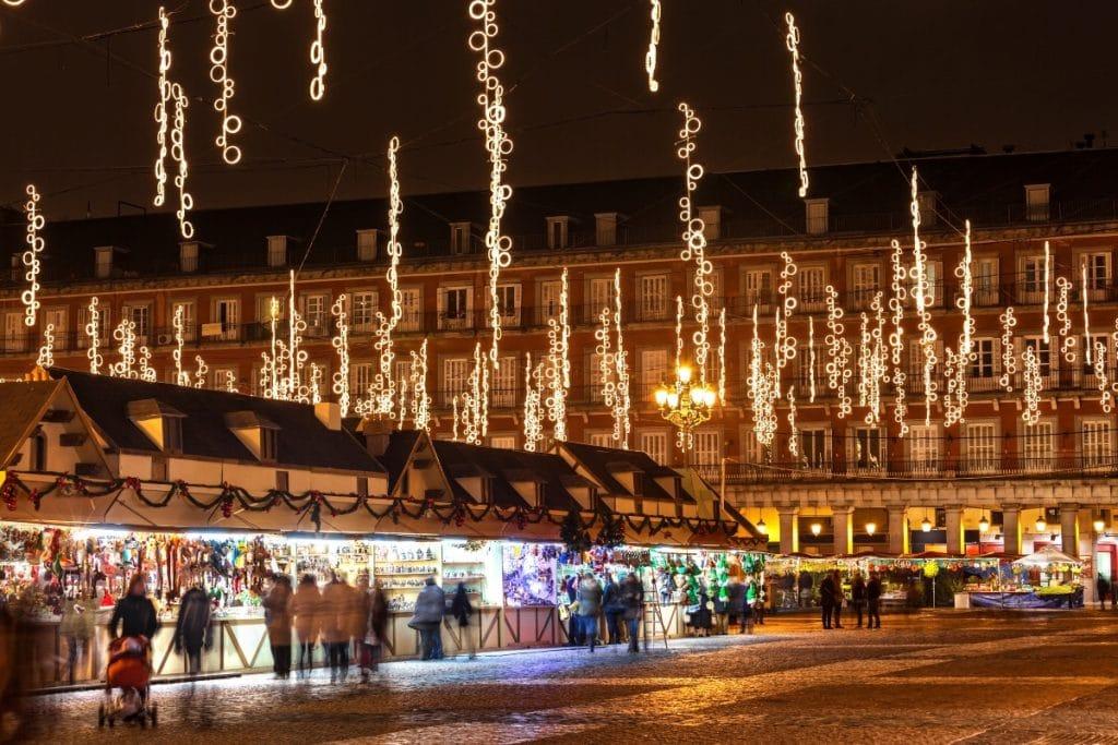 ¿Cuándo se encenderán las luces de Navidad en Madrid?
