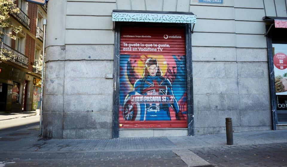 La ruta grafitera más fuera de serie llega a las calles de Madrid con Vodafone TV