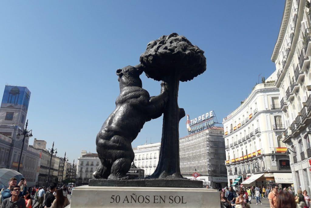Madrid se llenará de 40 réplicas exactas del oso y el madroño